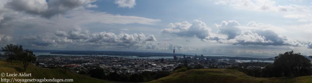 La vue depuis le Mont Eden
