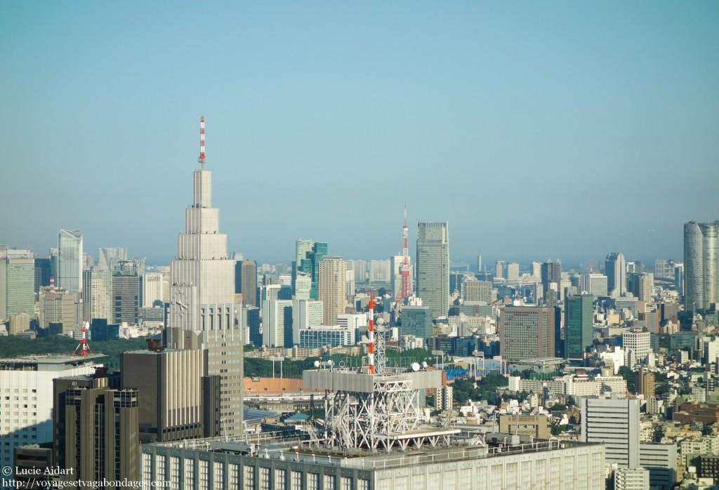 Vue sur Tokyo depuis Shinjuku