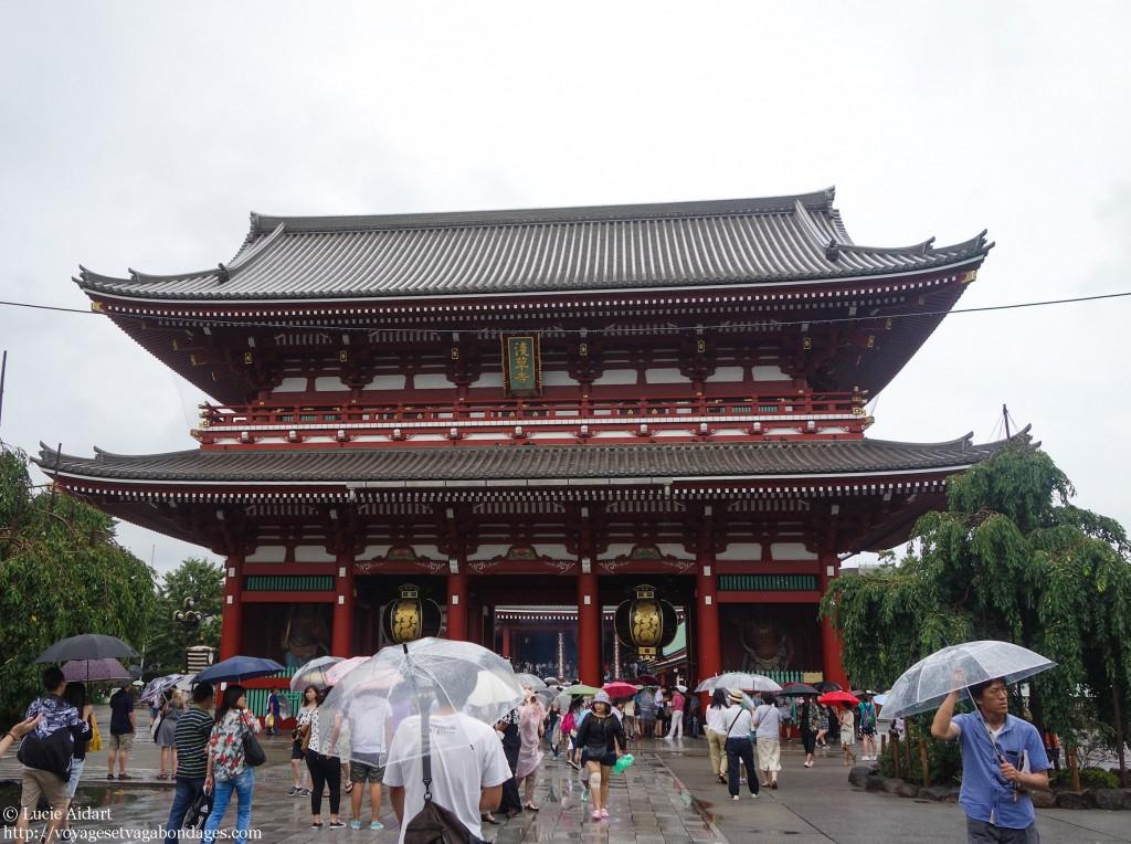 Visite du temple Sensô-ji
