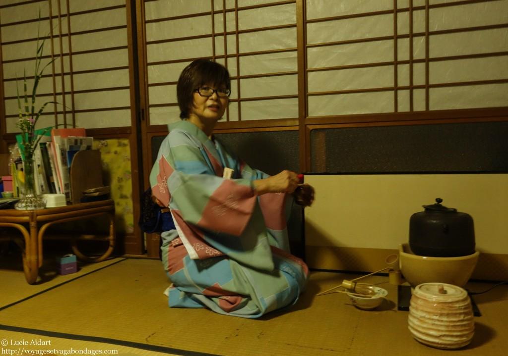 Leçon de cérémonie de thé