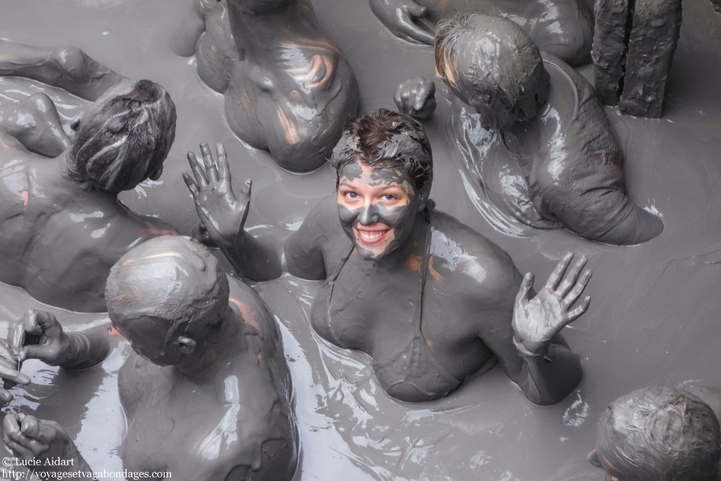 Novembre 2013 - Dans un volcan de boue en colombie