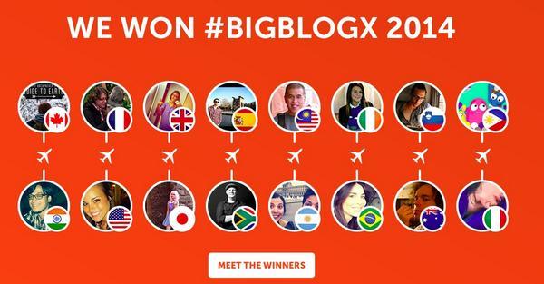 Big Blog Exchange 2014