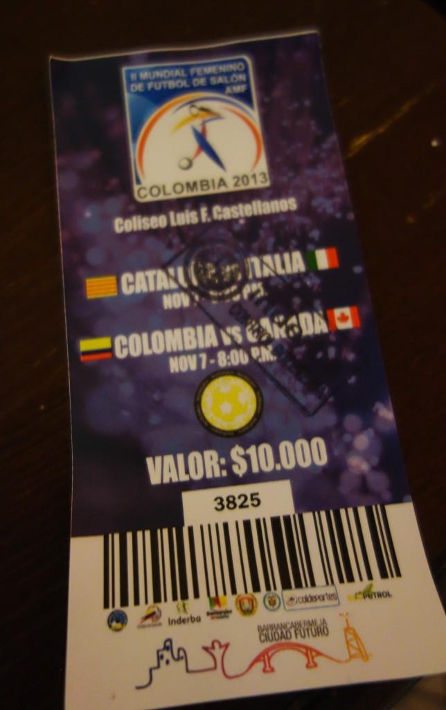 Ticket pour la Coupe du Monde