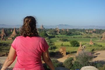 Vue sur Bagan