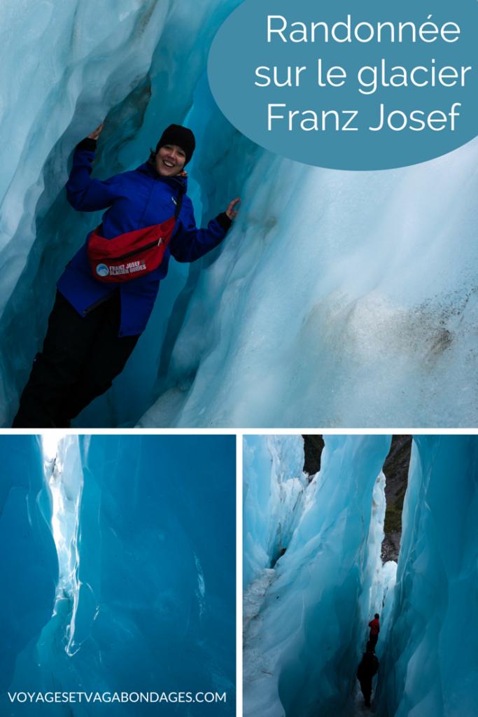 Randonnée sur le glacier Franz Josef