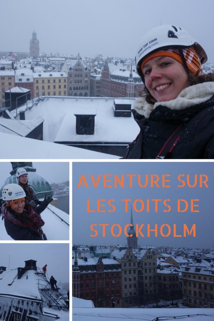 Aventure sur les toits de Stockholm, par Voyages et Vagabondages