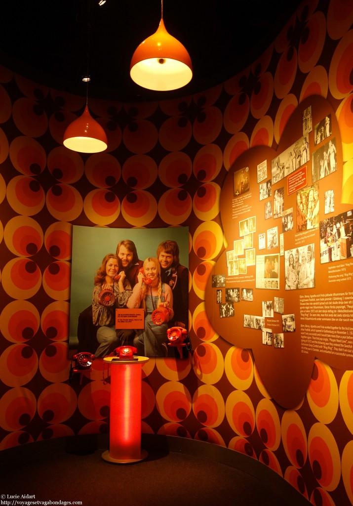 Le téléphone Abba - Les musées de Stockholm
