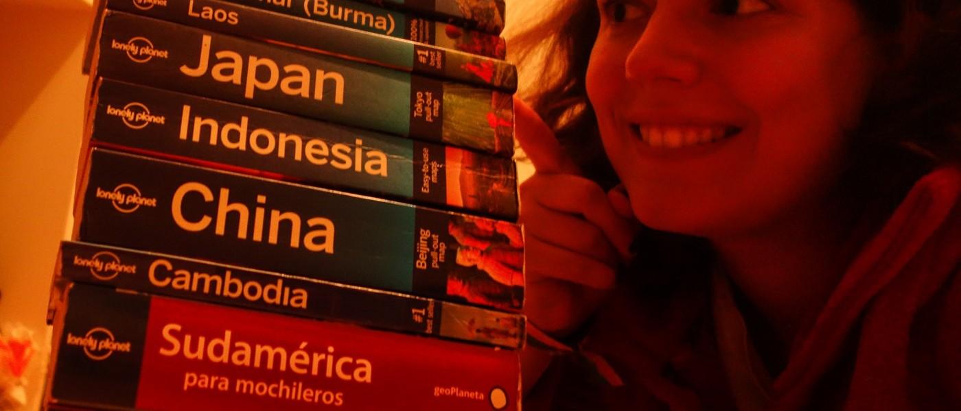 Mon tour du monde en Lonely Planet