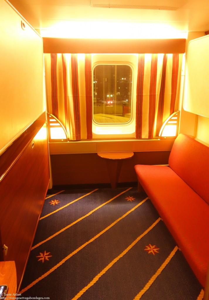 Ma cabine sur le MS Mariella