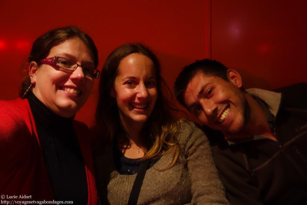 Avec Fabienne et Benoît