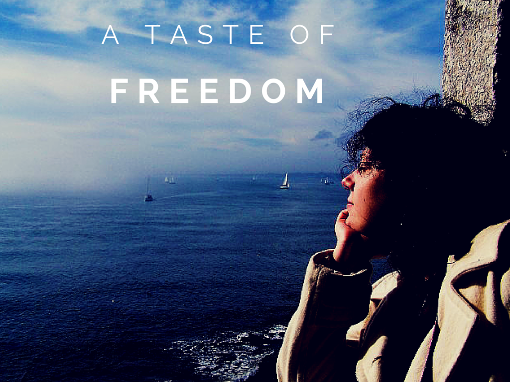 Travel quote - A taste of freedom