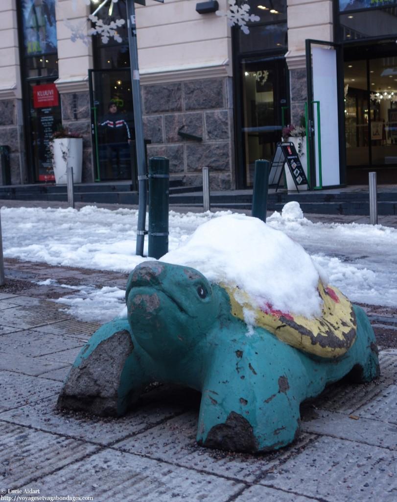 tortue, voyage à helsinki, helsinki en coup de vent