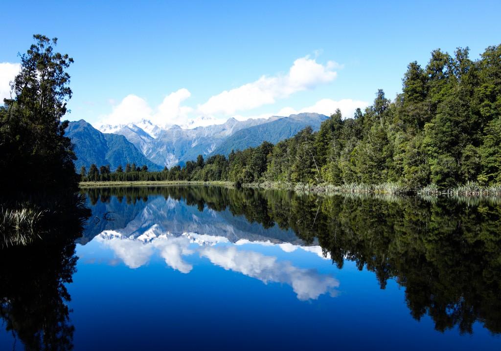 Lac Matheson, Nouvelle-Zélande