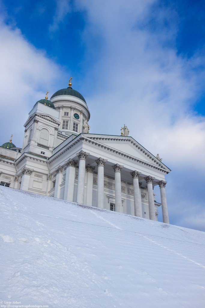 cathédrale luthérienne, voyage à Helsinki, Helsinki en coup de vent