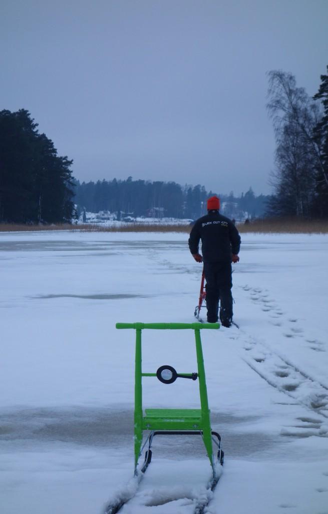 Traîneau, motoneige finlande