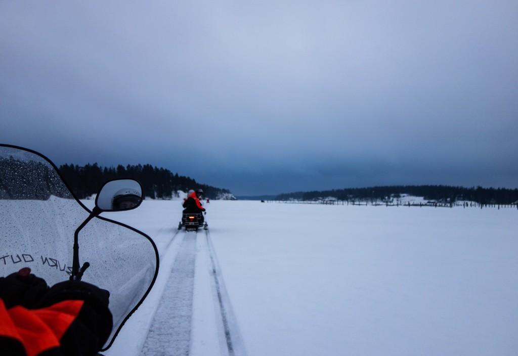 Motoneige, Finlande