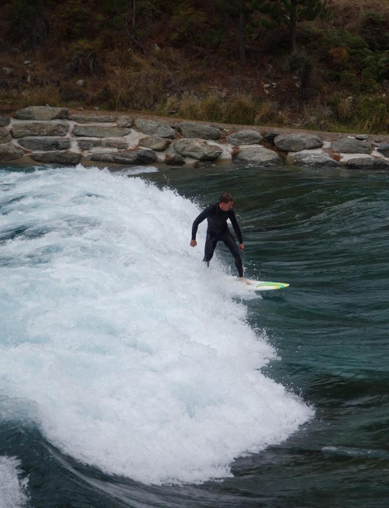 Surf à Wanaka