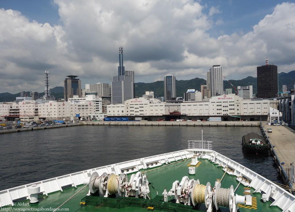 Ferry Kobe, 30 jours au Japon le bilan