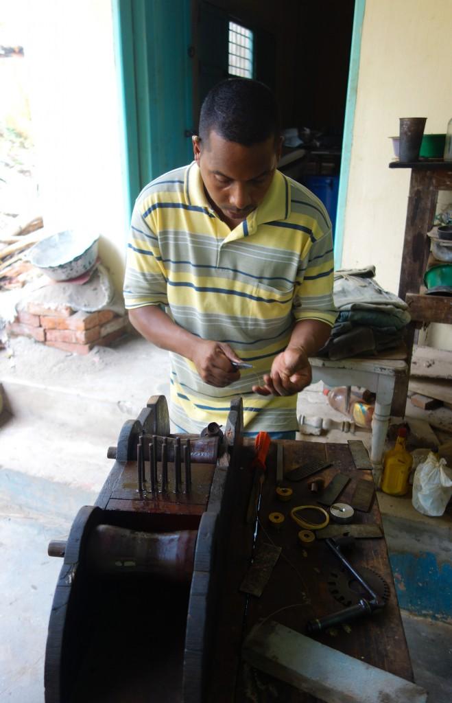 Travail d'orfèvres, Mompox, Colombie