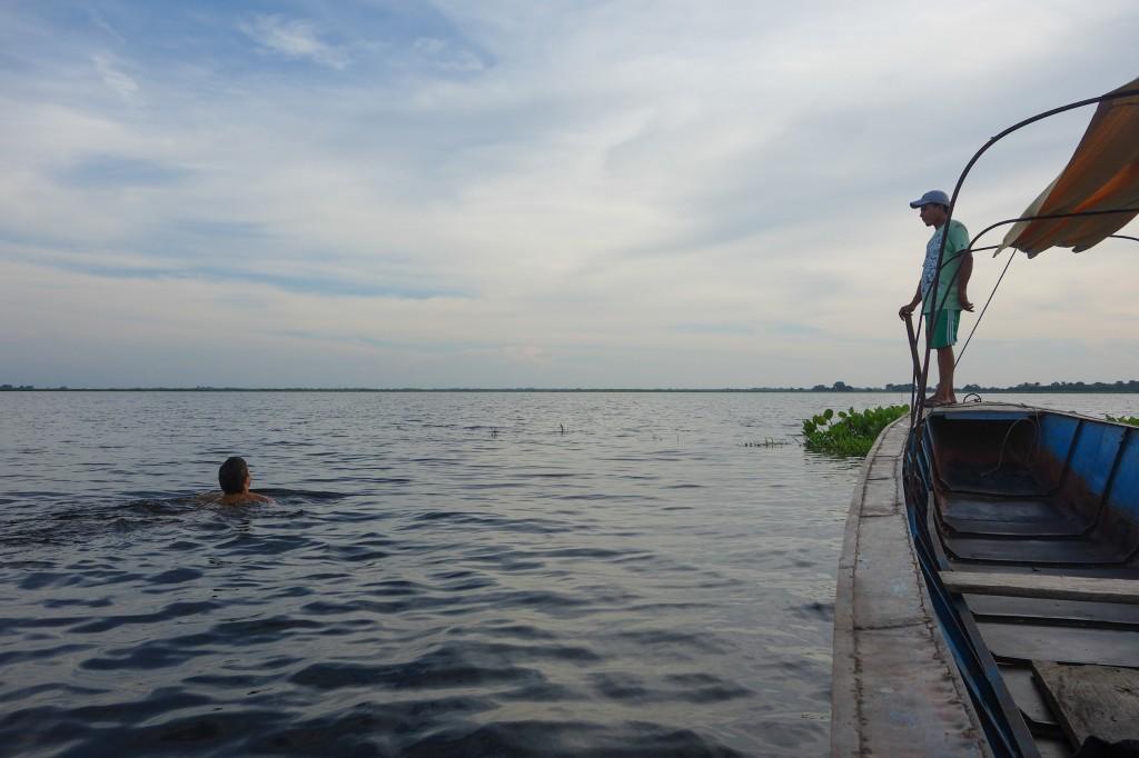 Tour bateau, Mompox, Colombie