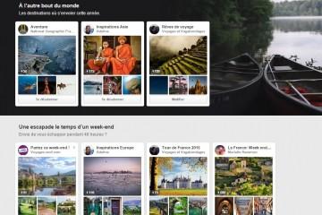 Préparer votre voyage avec Pinterest