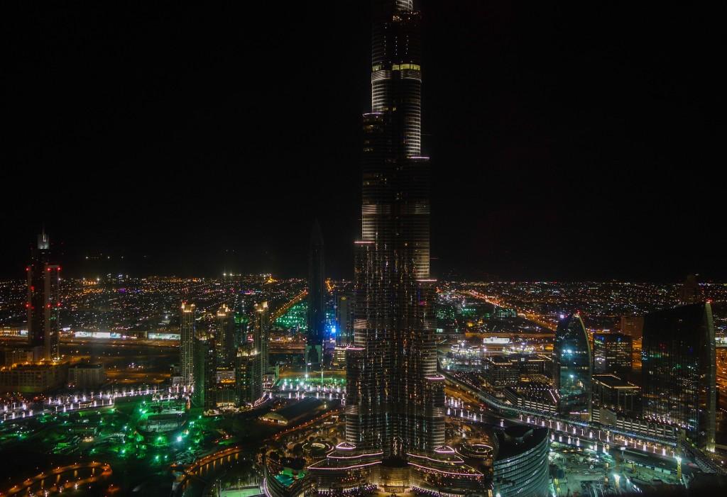 Le Burj Khalifa, escale à Dubaï
