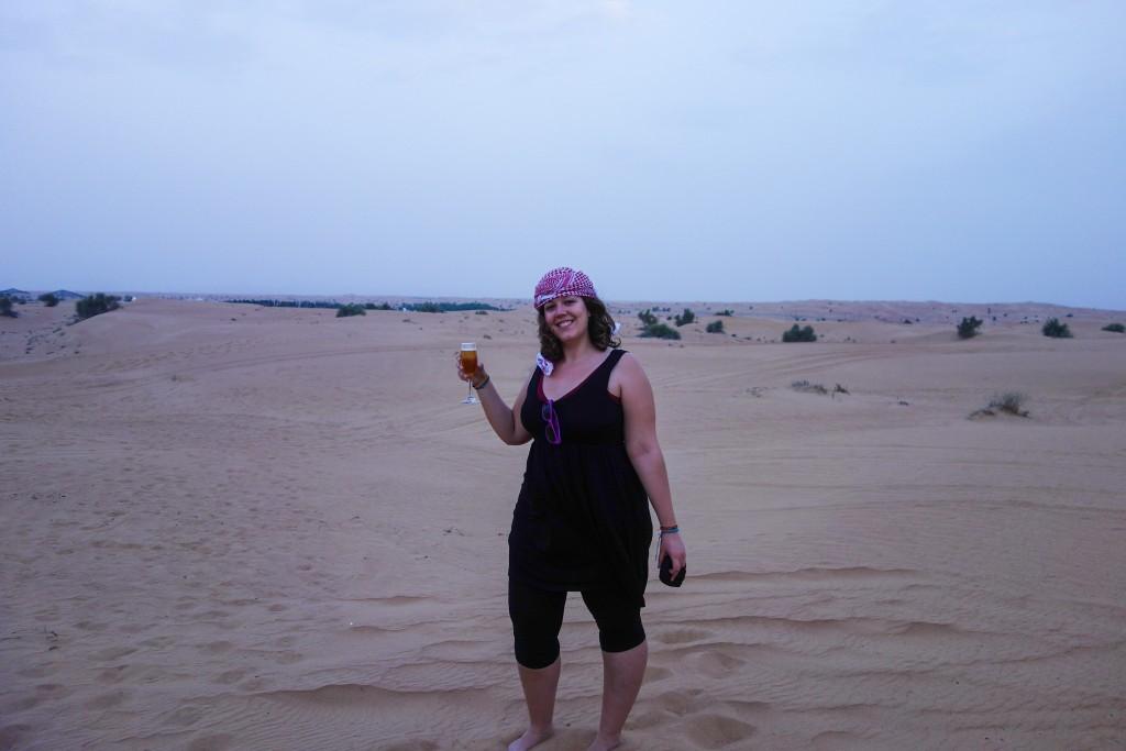 Apéro, Excursion dans le désert à Dubaï