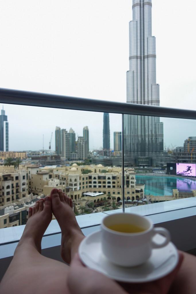 Relaxation au spa, The Address Downtown, escale à Dubai