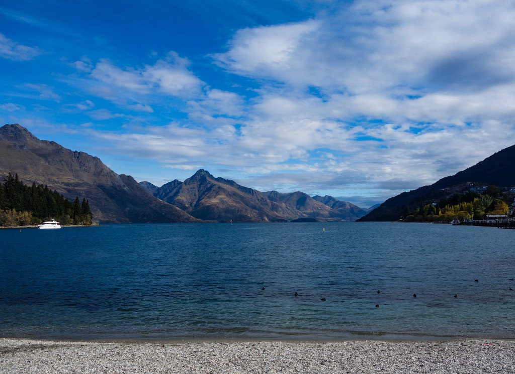 Que faire à Queenstown, lac Wakatipu