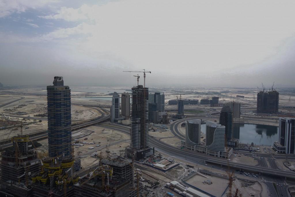 Vue depuis ma chambre, The Address Downtown, Dubaï