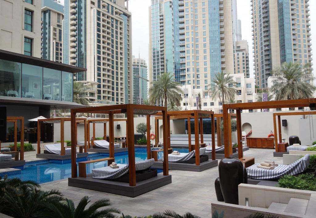 Pique-nique urbain chez Vida Hotel, escale à Dubaï