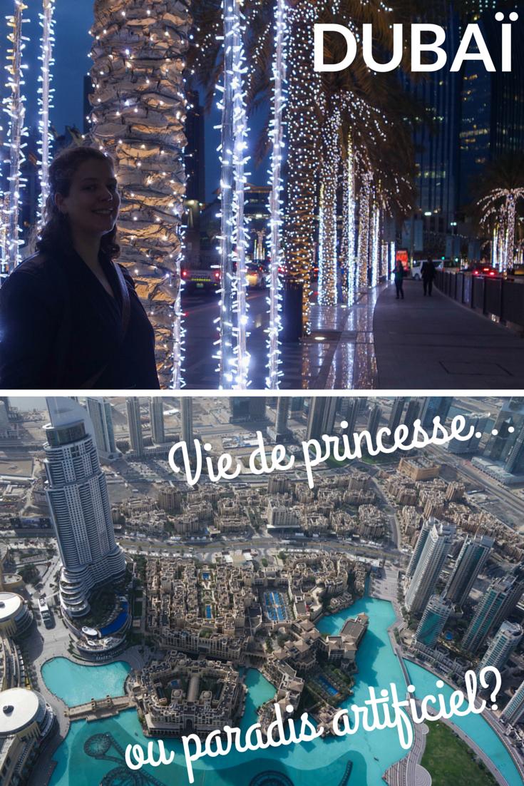Dubaï, vie de princesse ou paradis artificiel?