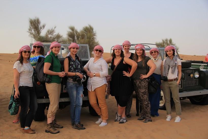 Souvenir de Dubaï dans le désert avec les blogueuses, Excursion dans le désert à Dubaï