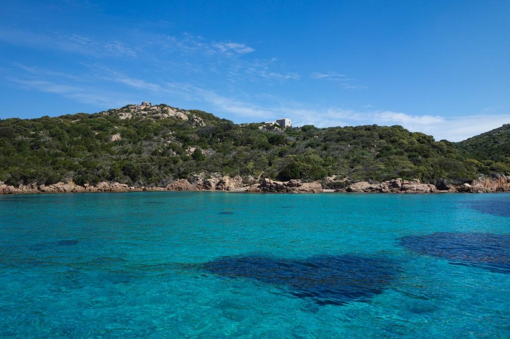 Eau bleue turquoise à Bonifacio, voyage corse