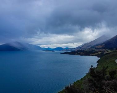 Queenstown Nouvelle-Zélande, vers Glenorchy