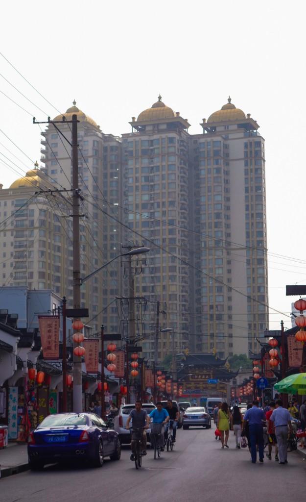 Voyage en Chine: La vieille ville de Shanghai