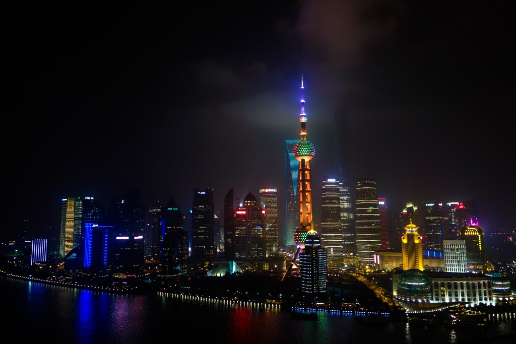 Voyage en Chine, le Bund à Shanghai