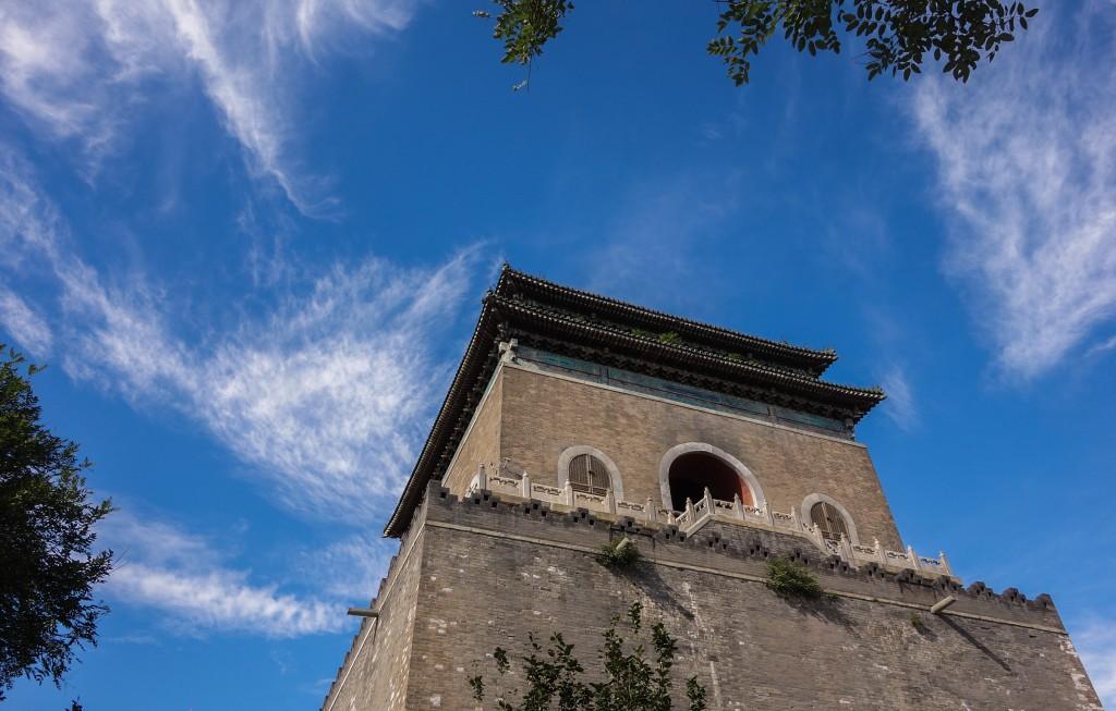 Voyage en Chine: temple à Beijing