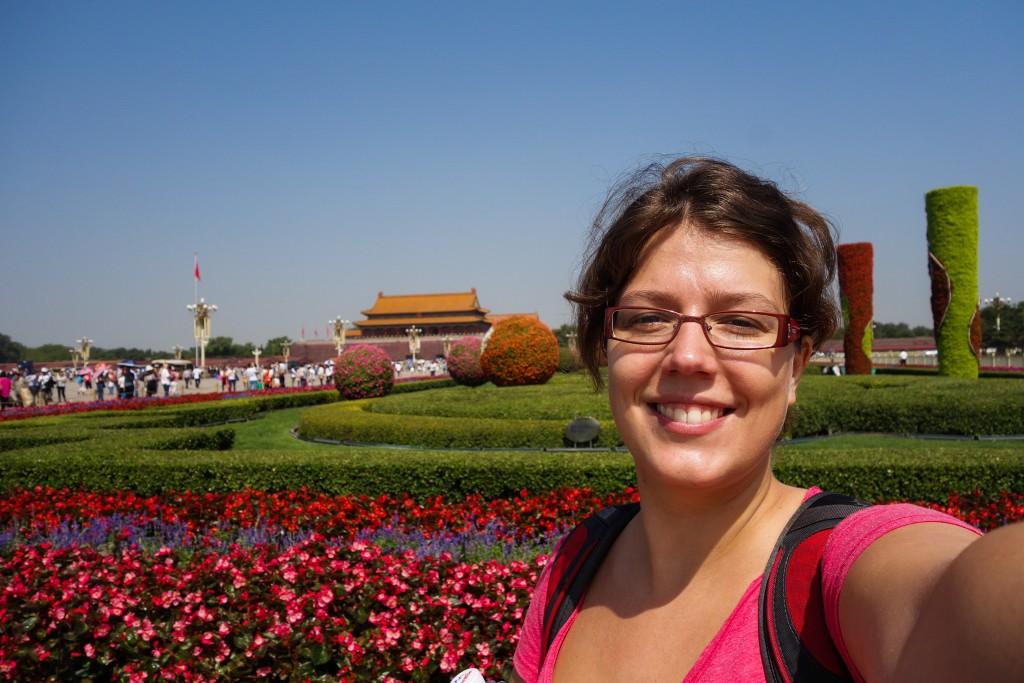 Voyage en Chine: sur la place Tiananmen
