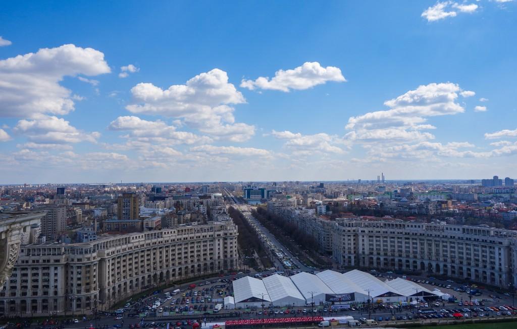 L'avenue Unirii, les Champs Elysées de Bucarest