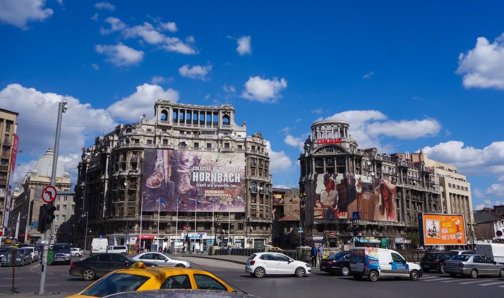 Capitale de la Roumanie, Bucarest, tourbillon