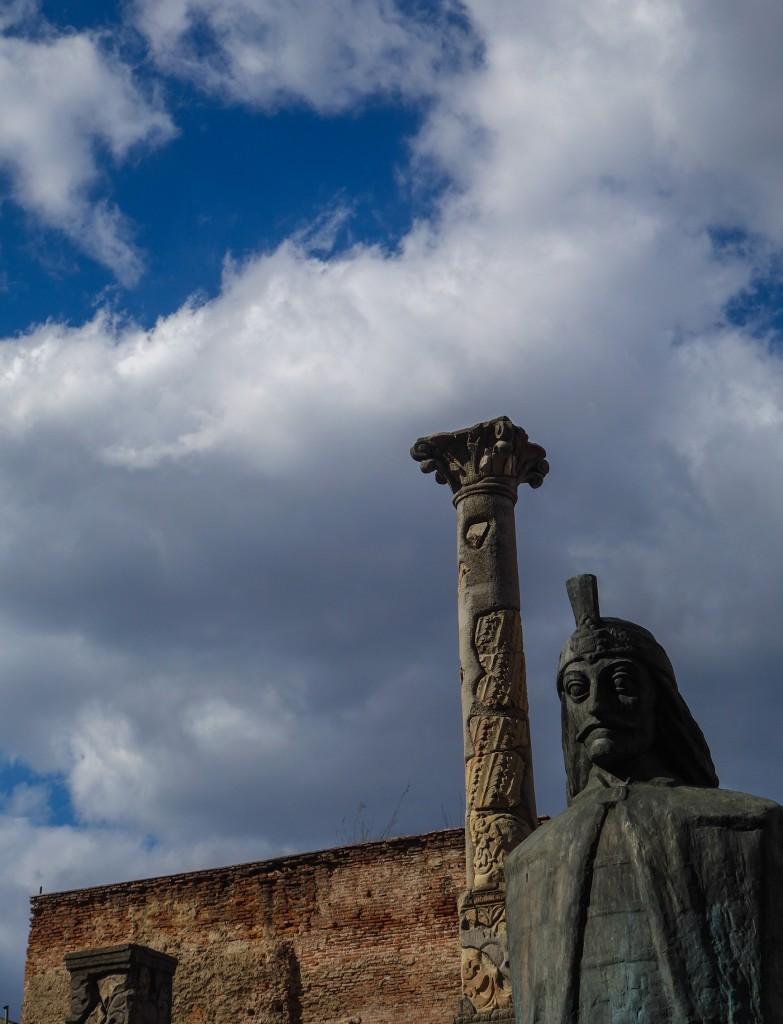 Statue de Vlad Tepes, alias Dracula à Bucarest