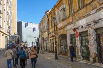 La vieille ville de Bucarest