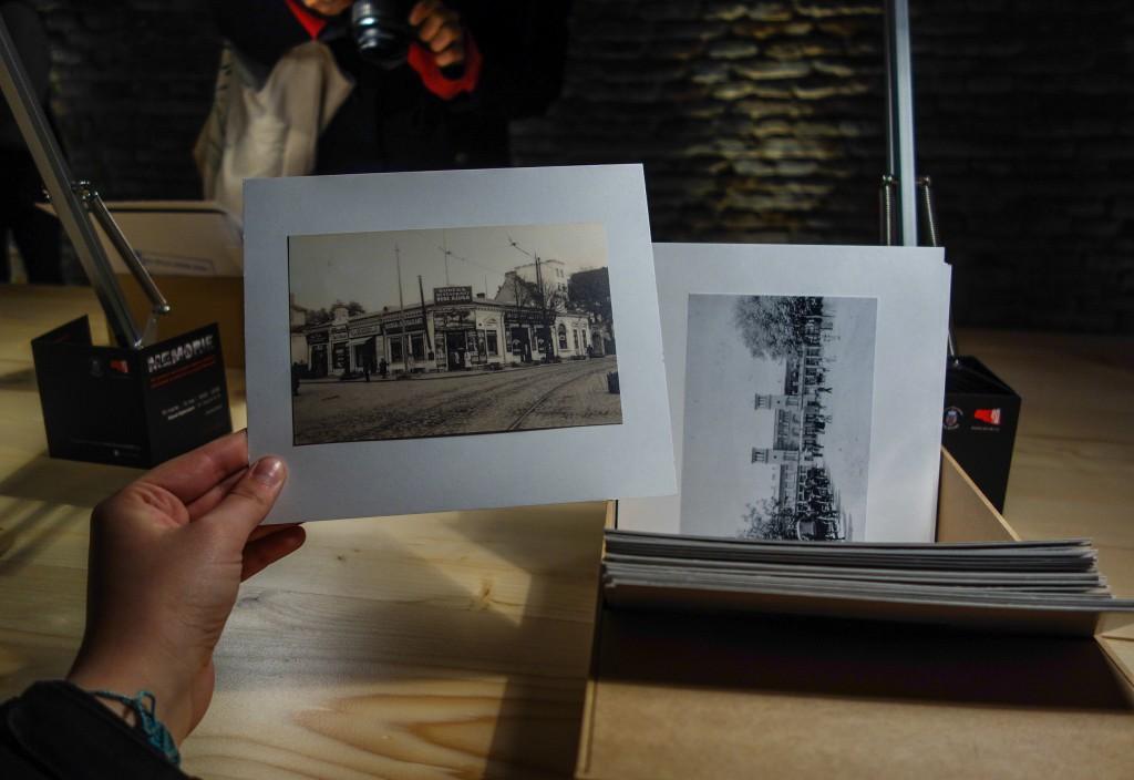 Exposition sur le vieux Bucarest en photo