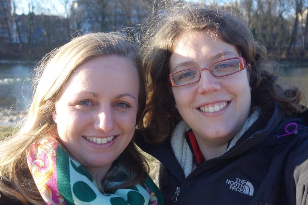 Voyage en Autriche, Marie et Lucie à Munich