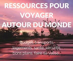 Ressources pour voyager autour du monde