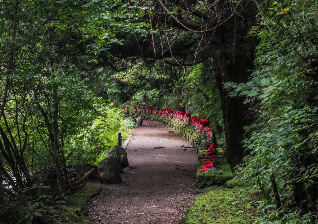 Les Bouddhas Jizo de Kanmangafuchi Abyss à Nikko
