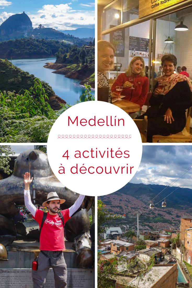 4 activités à découvrirà Medellin