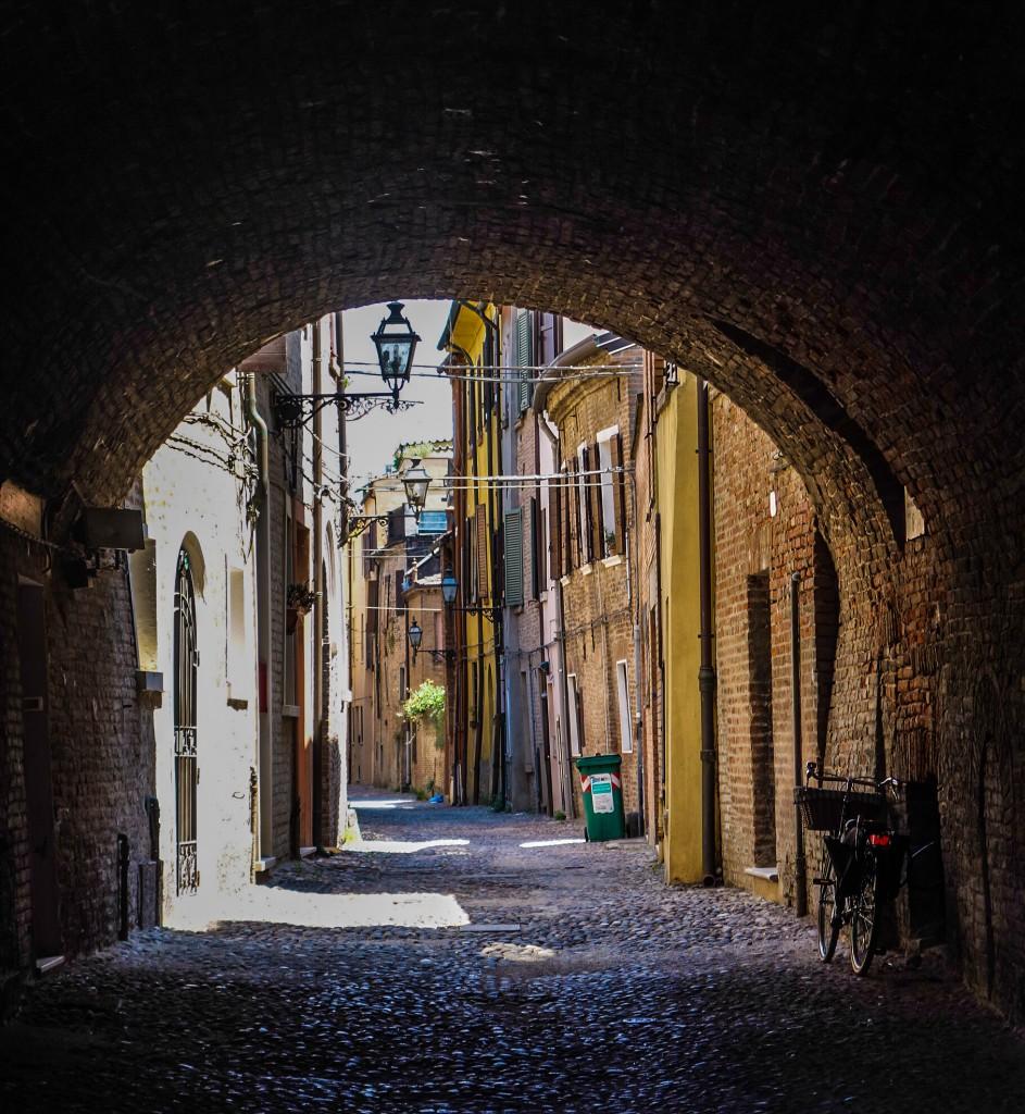 Ferrara en Emilie-Romagne