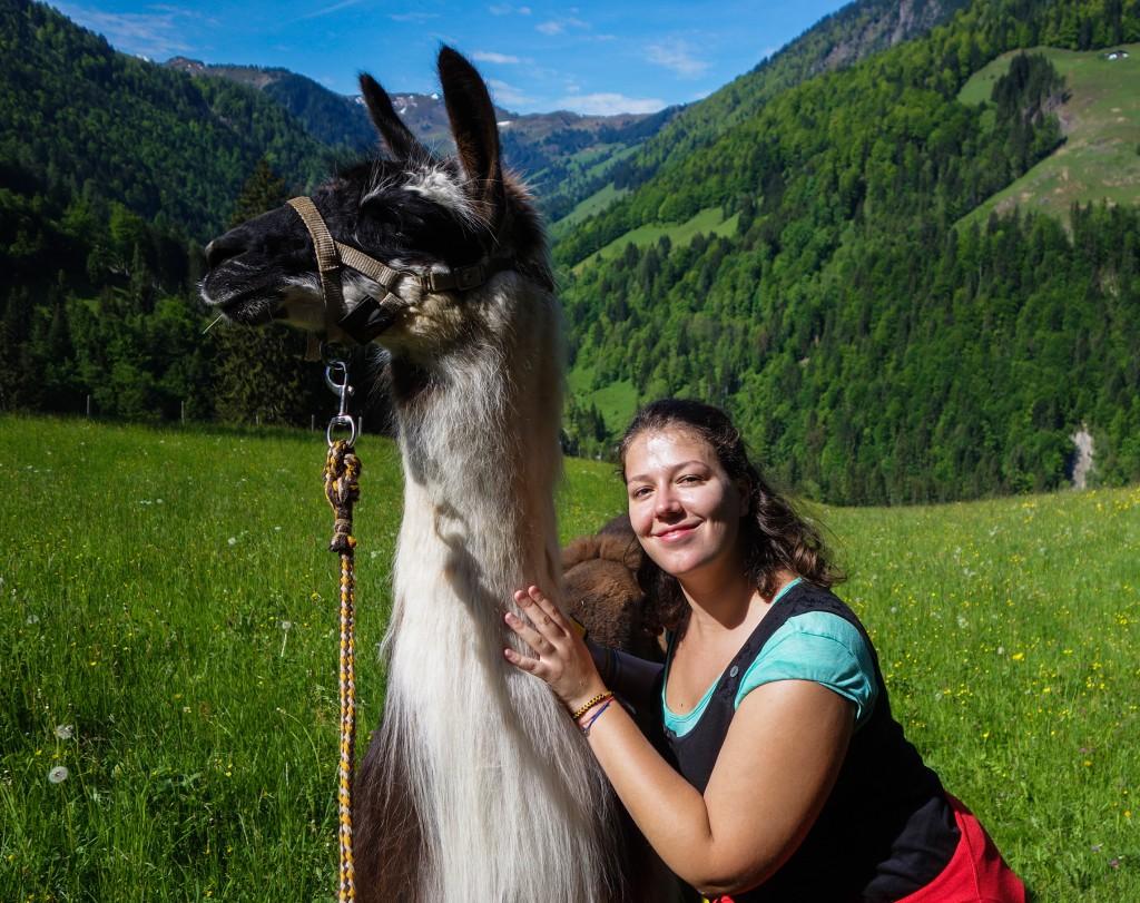 Rando-lama en Autriche